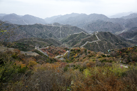 the great wall: The great wall Stock Photo