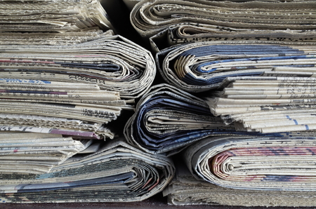 evening newspaper: Newspapers