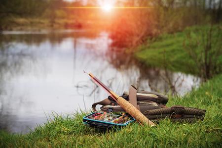 Fishing Tenkara Stock fotó