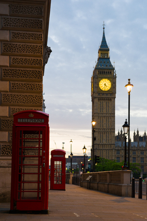 big house: London, Great Britain  - July 8, 2014: London - Big Ben on London