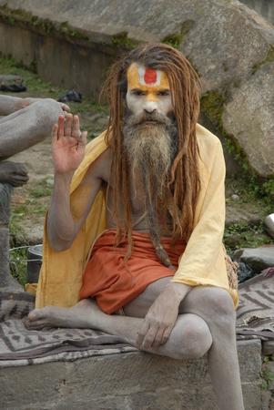 Baba in Nepal Stock Photo - 117884807