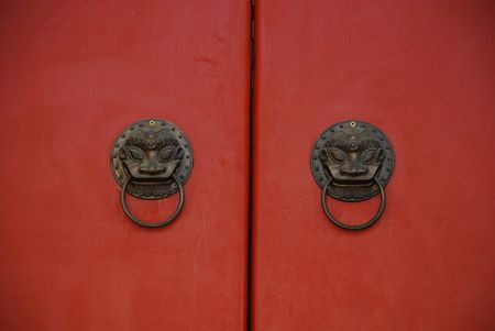 traditional Chinese gate Imagens - 4161433