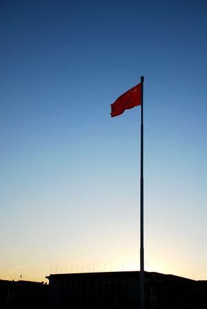 China flag  에디토리얼