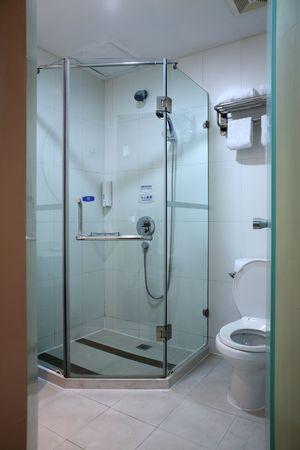 a modern, contemporary designer bathroom Stock Photo - 5205830