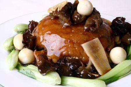 sea slug: china delicious food-- sea slug fried rice Stock Photo
