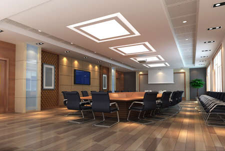 3d meeting room photo