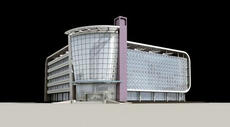 3d architectural photo