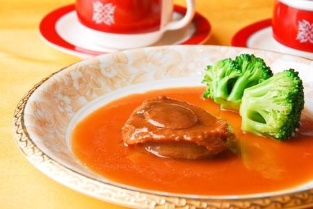 중국 음식 - 전복
