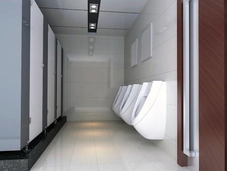 세련 된 욕실의 현대적인 디자인 인테리어입니다. 3D 렌더링