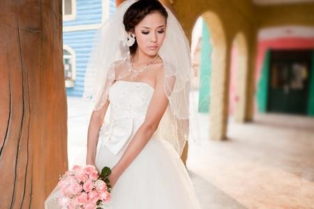 일련의 결혼 사진