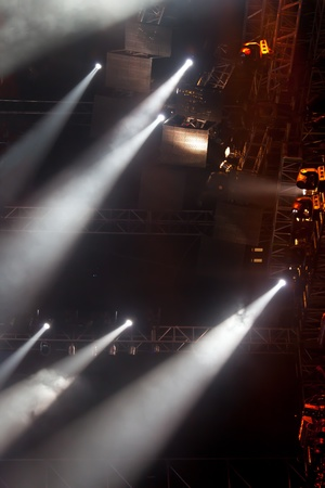 image of stage lighting effects Stock Photo - 8539854