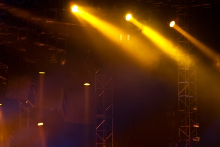 image of stage lighting effects Standard-Bild