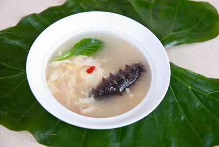 sea slug: china delicious food��sea slug and soup Stock Photo