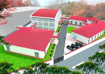 3d construction  - modern city, modern architecture and designing Stock Photo - 9811442
