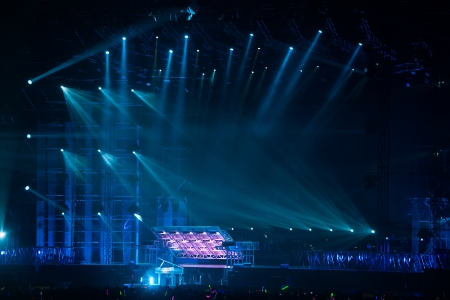 image of stage lighting effects Stock Photo - 16531905
