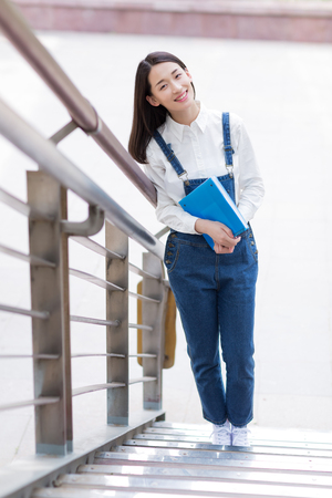 chinese adult: young female student