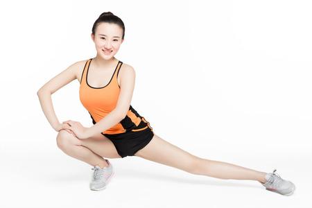 flexibility: the girls body has good flexibility and strength