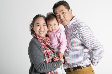 potrait: Family potrait Stock Photo