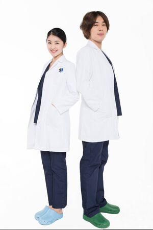two professional medical experts
