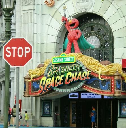 sesame street: Sesame Street in Universal Studios Singapore