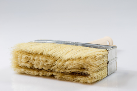 Large Paint Brush For Painting Walls, White Background, Isolated ...