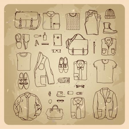 ropa casual: hombres s bocetos ropa de hombre ropa de moda y accesorios