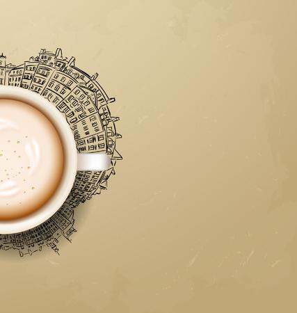 good break: coffee break. Hot Coffee cup. latte it`s coffee time. I love coffee. Coffee is always a good idea