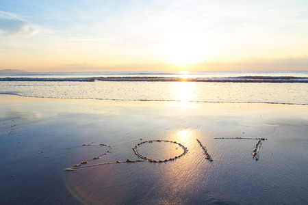 turns of the year: 2017 at the beach