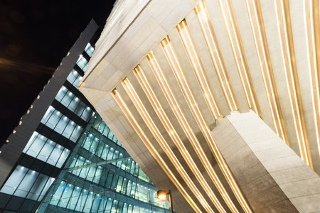 the local characteristics: Exterior of modern building