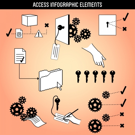 Access Infographic Elements