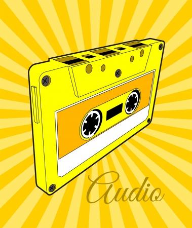 Bande de cassette audio Vecteurs