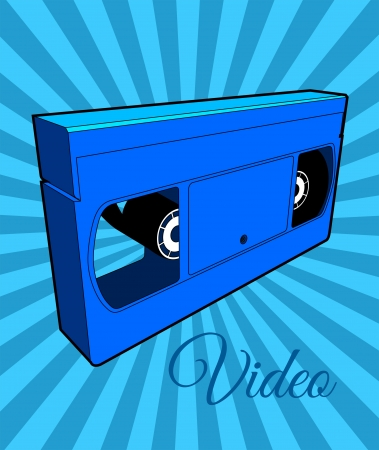ligne: Video Cassette Tape