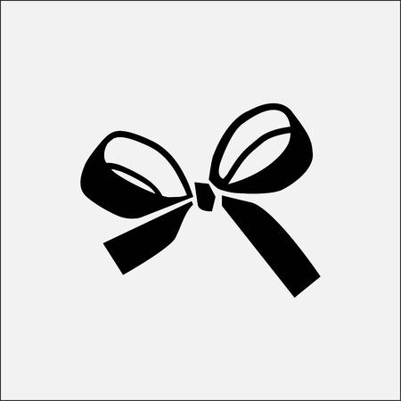 Ribbon icon stock vector illustration flat design style