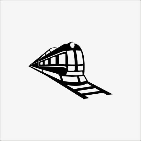 Tren icono stock vector ilustración diseño plano estilo Ilustración de vector