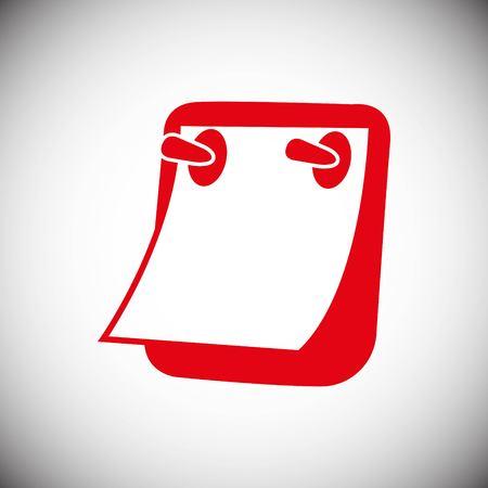 List office button icon stock vector illustration flat design style