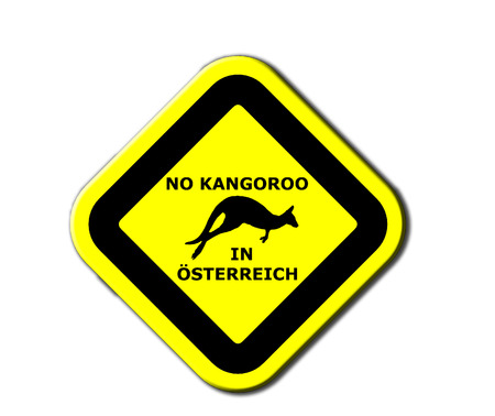 No kangaroo in Österreich  Austria  photo