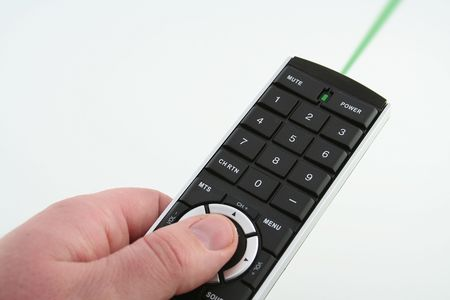 Green laser remote