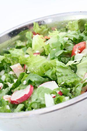 fresh green salad Stok Fotoğraf - 431990