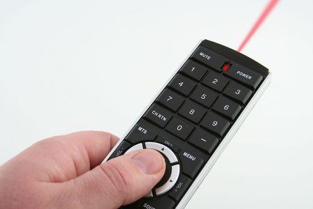 Red laser remote