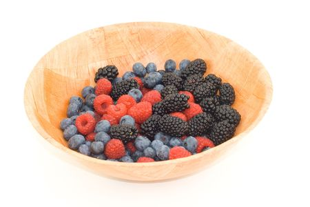 Mixed berries in a bowl Stok Fotoğraf - 531857