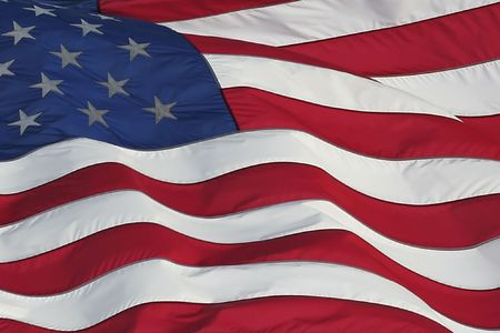 American flag 1 Stock Photo - 621998