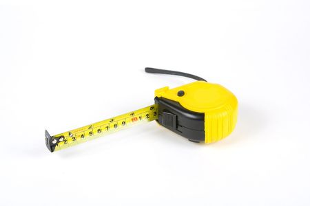 measuring tape isolated on a white background Stock Photo - 770953