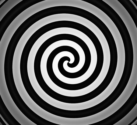 black and white spiral gradient background  Фото со стока