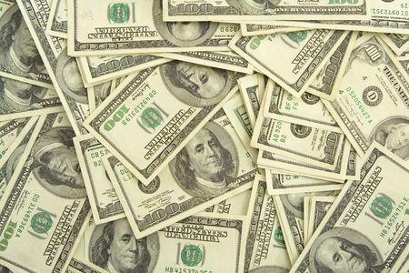 hundred dollar bills background Stok Fotoğraf