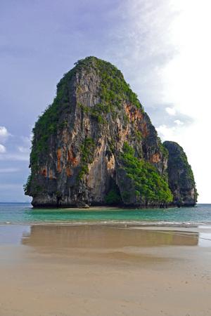thailand beach: Phranang Cave Beach, Thailand.