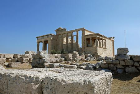 quenching: Erechtheum, Athens. GREECE.