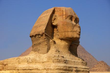 sphinx: Esfinge, Egipto.