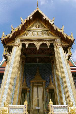 Grand Royal Palace, Bangkok. THAILAND. Stock Photo