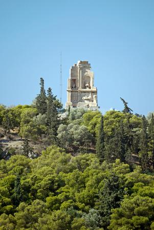 Acropolis of Athens, Greece.