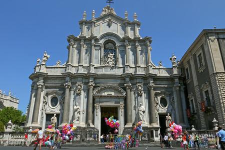 catania: Catania Cathedral, Italy.